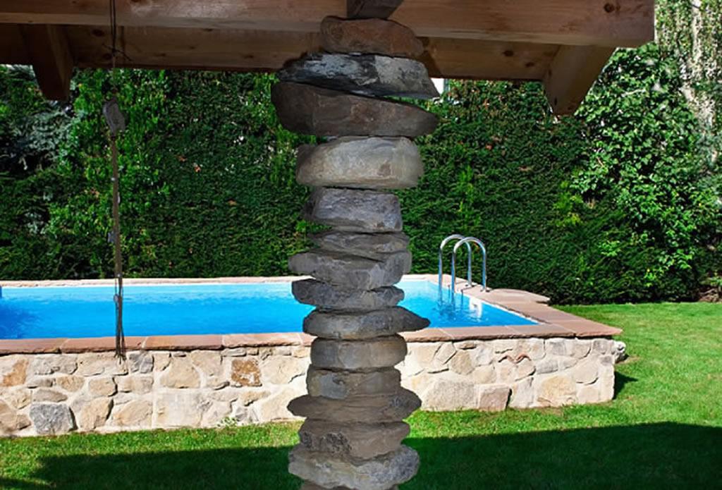 Pool aus Naturstein - Beregnung und Bewässerung - Galeriebild