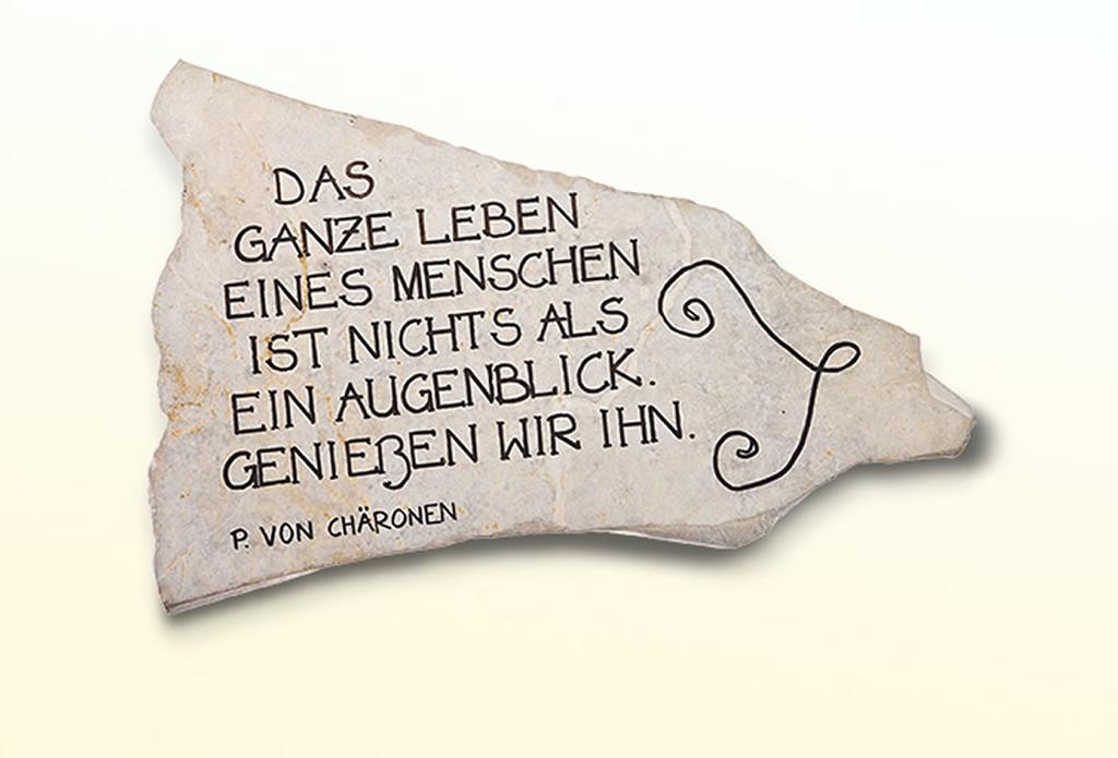 Geschenk für Gartenfreunde - Olivenholz - Galeriebild
