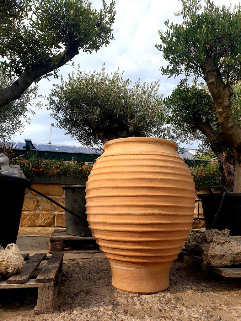 Kreta Keramik Amphore - LPM Naturstein Garten und Landschaftsbau