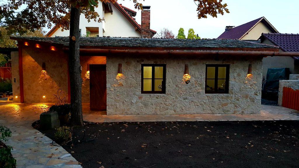 Haus - Natursteinverkleidung - LPM - Garten - und - Landschaftsbau - Schmidt- Krostitz - bei - Leipzig