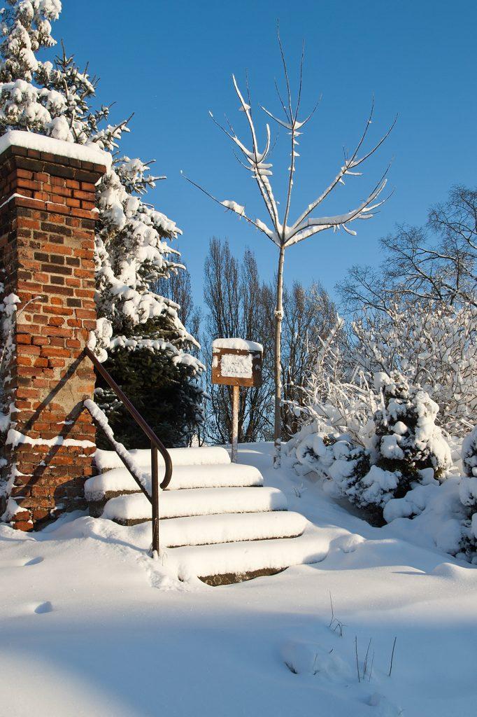 Winterbild Krostitz