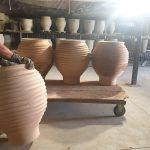 Keramiktöpfe - Brennvorgang - bei - LPM - Landschaftsgestaltung - Krostitz - bei - Leipzig