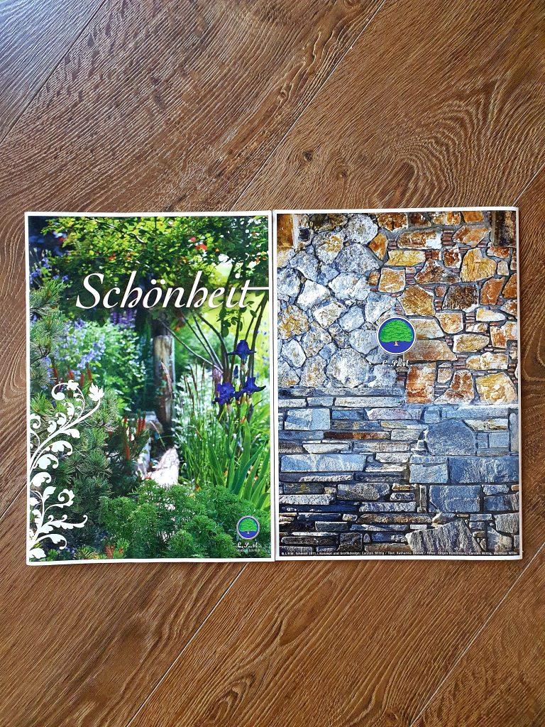 Gartenbroschüre Schönheit LPM Garten und Landschaftsgestaltung Krostitz bei Leipzig