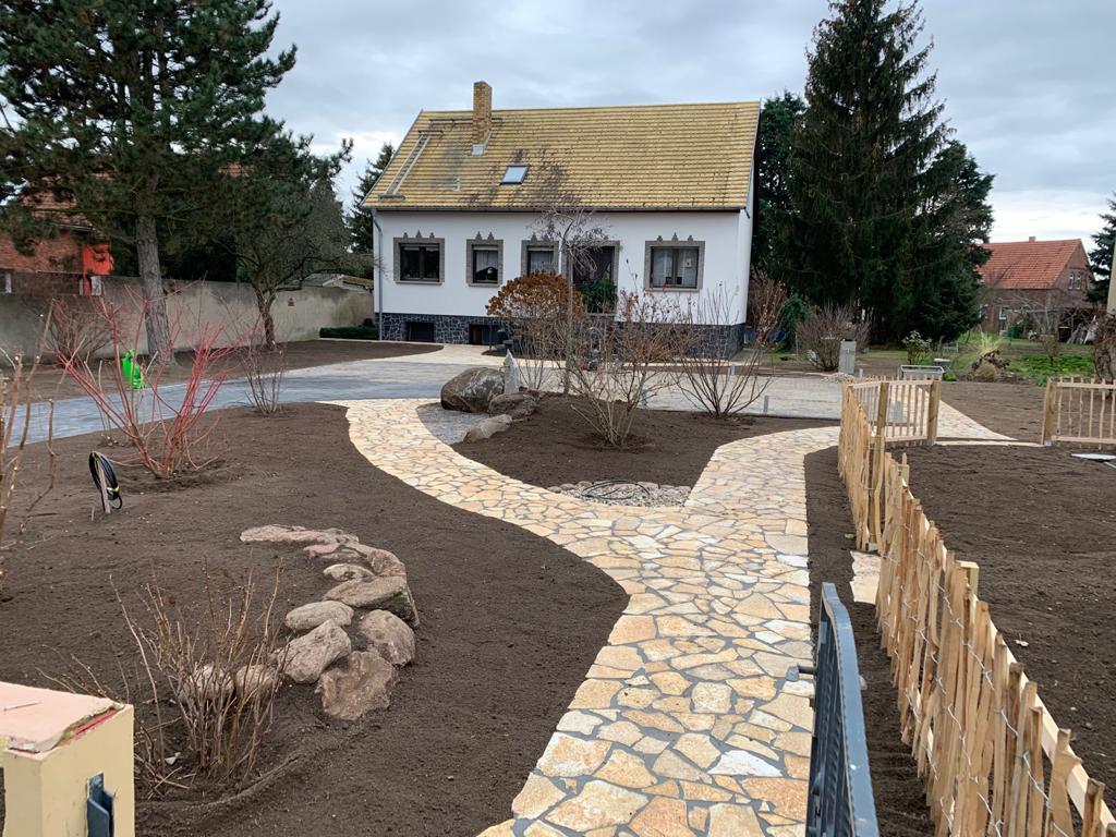 Ländliche Gartengestaltung